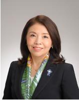 2018-19年度国際ロータリー第2750地区ガバナー 服部陽子氏写真